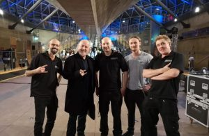 Bill Bailey on the Cutty Sark